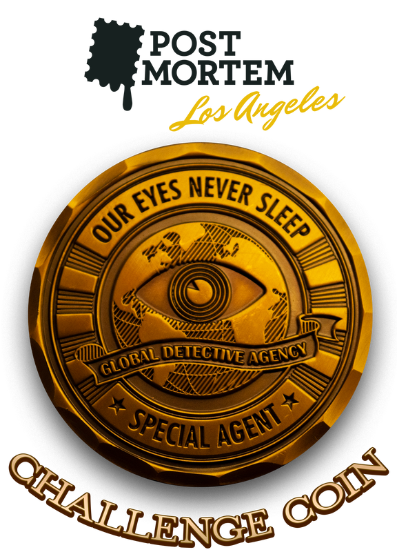 Challenge Coin - Post Mortem: LA