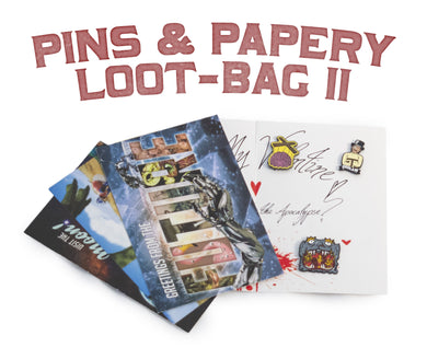 Pins & Papery Loot-bag II