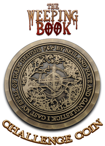Challenge Coin - The Weeping Book