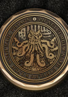 Challenge Coin - The Crate of Cthulhu - Mysterious Package Company