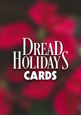 Dread Holidays Cards - Mysterious Package Company