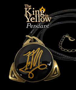The Yellow Sign Pendant