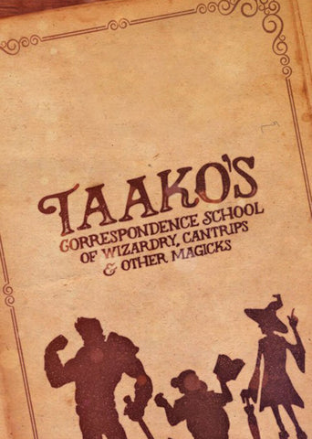 Taako's Correspondence School & Sizzling Chef Bundle - Mysterious Package Company