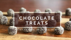 Chocolate Treats - easy to make, delicious to eat