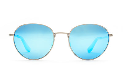 Adamant Metal Sunglasses Polarized Blu Mirror Lenses