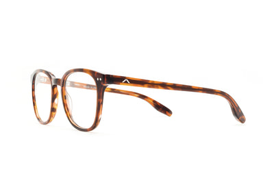 Aix Optical Eyeglasses Natural Acetate Brown