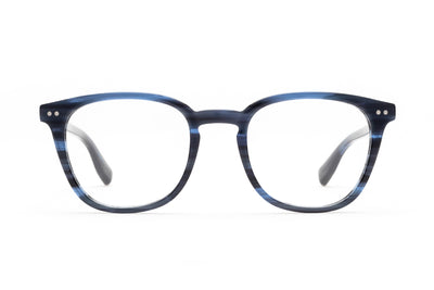 Aix Optical Eyeglasses Made in Italy Liquid Blue