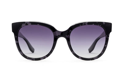Astrid Sunglasses Polarized Purple Lenses Made in Italy