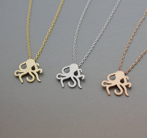 Waving Octopus Necklace *FREE SHIPPING*