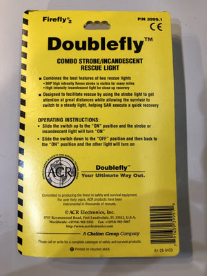 FIREFLY® 2 DOUBLEFLY STROBE/INCANDESCENT RESCUE LIGHT