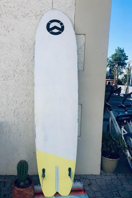 "7'6"" WET Longboard Surfboard"