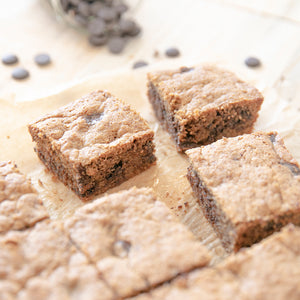 Blondies De Crema de Amendras
