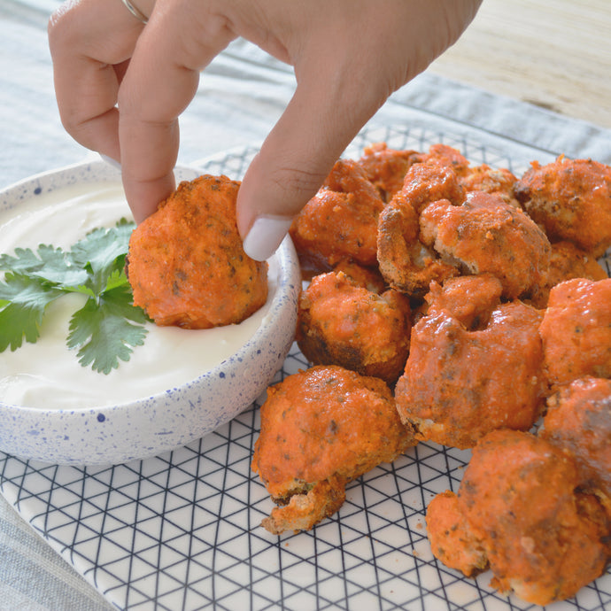 Coliflor Estilo Buffalo Wings