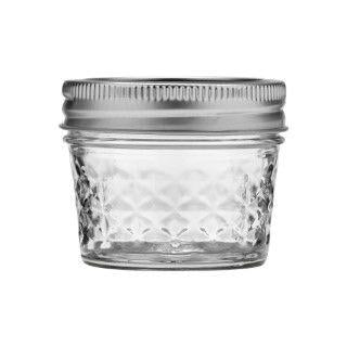 Mason Jar de 4 oz Boca Regular,