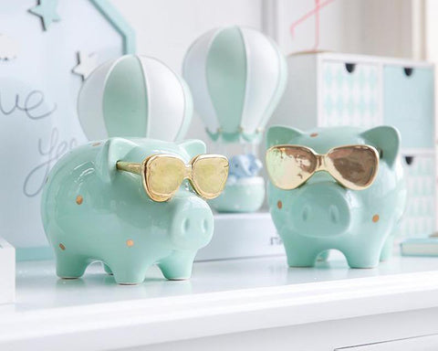 Shady Piggy Bank