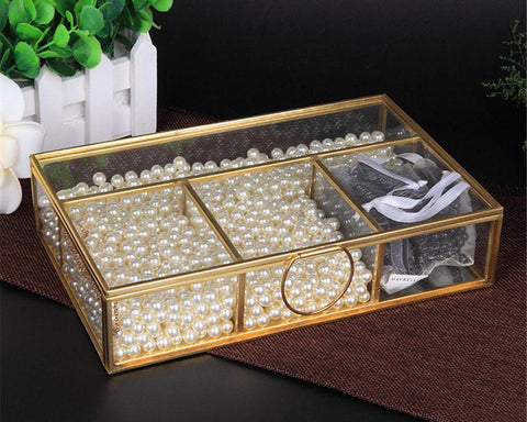 Compartmentalized Jewelry Box