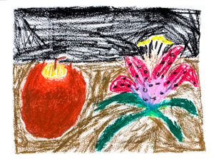 Apple and a Flower
