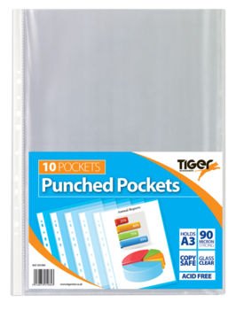 A3 Punched Pockets