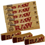 5 RAW Classic Kingsize Slim Rolling Papers & 3 Raw Tips Combo Pack