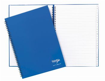 Notebooks - Indexed Twin Wire (Hard Cover)