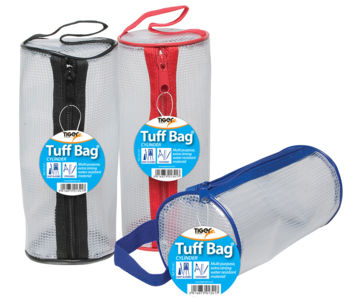 Clear Tuff Bags - Cylinder