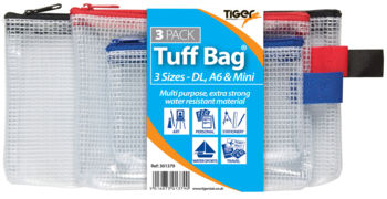 Clear Tuff Bag - Triple Pack