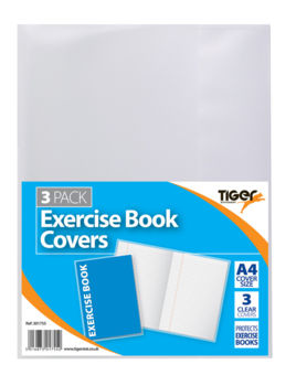 Exercise Book Covers - Clear
