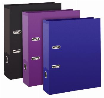 Board Lever Arch Files (A4 Standard Colours)