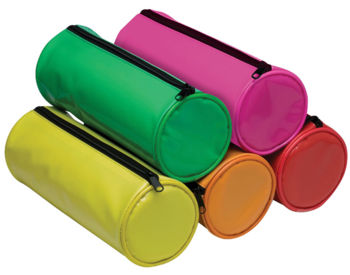 Cylinder Pencil Cases - Shiny Brite