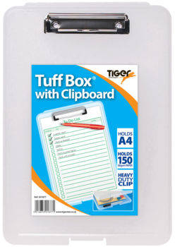 Tuff Box with Clipboard