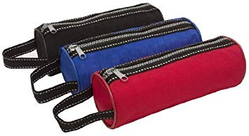 Cylinder Pencil Cases - Nylon Chunky Zip
