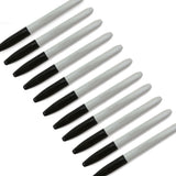 Pack of 12 Permanent Markers (Black)