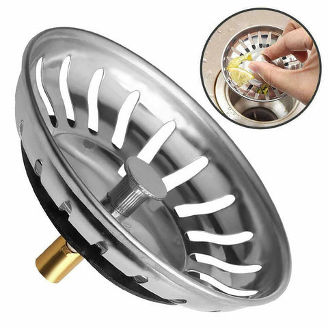 2x Kitchen Sink Strainer