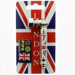 Pocket Size Small Union Jack Smoking Pipe with Free 5 Pipe Screen Stylish design