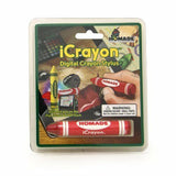 Red iCrayon Crayon Pen Stylus - Draw on Tablets and Phones