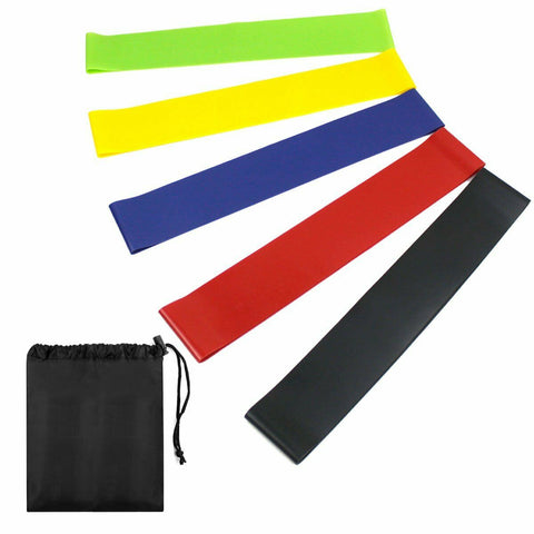 Resistance Bands Exercise Loop - Band Set of 5