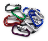 10 x assorted Carabiner Keychain Clip