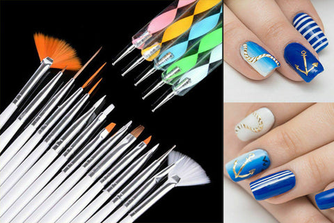 20pcs Nail Art - Bundle Tool Kit