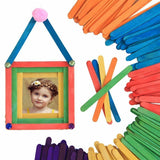 Lollipop Sticks Natural or Colour Wooden Lollypop Sticks