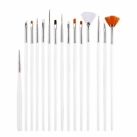 15pcs Nail Art Brushes