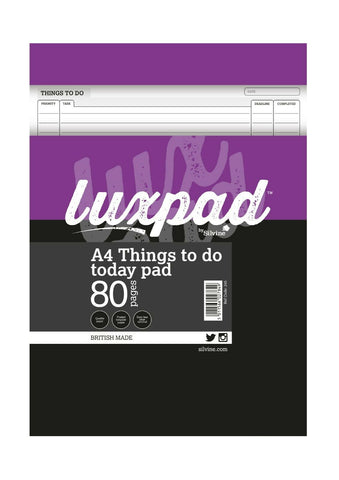 A4 'Things to do today' Pad by Silvine (80 Pages)