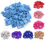 Scrabble Tiles Full Size 100 Set Letters for Art & Crafts Scrapbook Game