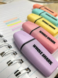 5 Pcs Assorted Premium Mini Highlighters