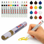 Paint Pen Marker Colours for Car Tyre - Permanent Marker