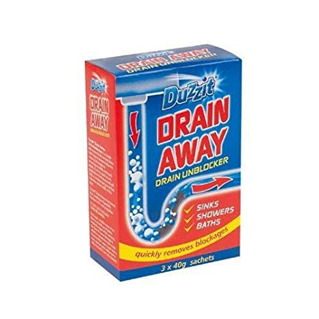 Duzzit DRAIN AWAY DRAINS - UNBLOCK CLEANING SINKS