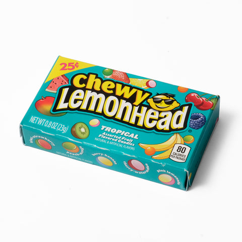 FP Lemonheads Chewy Tropical Theatre Box - 0.8oz (23g)