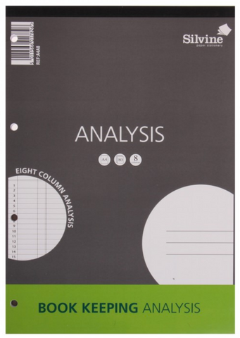 Silvine Analysis Pad A4