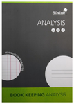 Silvine Analysis Book Keeping Pad A4