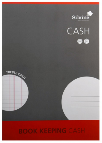 Silvine Book Keeping Cash Pad A4
