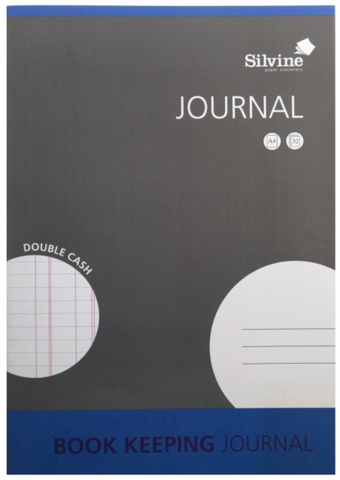 Silvine Journal Book Keeping A4